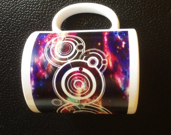 Your Name in Gallifreyan Personalised Dr Who Mug