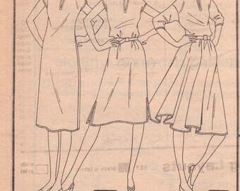 Basic Dress Pattern Simplicity 5444 Size 12 Uncut