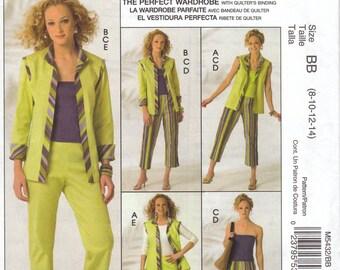 Fun Wardrobe Pattern McCalls 5432 Sizes 8 - 14 Uncut