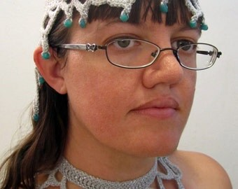 SALE: Sea Queen Headdress and Necklace