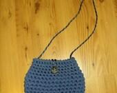 CACAU Small Blue Handbag Porcelain Pendant