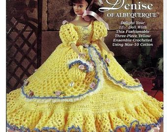 Ladies of Fashion Denise of Albuquerque  Crochet Pattern  The Needlecraft Shop 982529