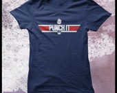 Star Wars t-shirt - Top Gun t-shirt - women's geek t-shirt - Punch it