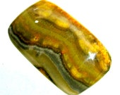 Rare Bumble Bee Jasper Cabochon for Setting as Jewelry, Gift or Collectible, Metaphysical, OOAK pattern