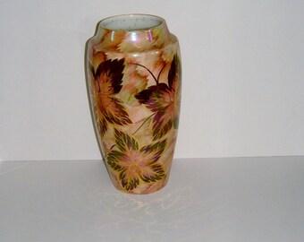 1950s Vase Old Court Ware Flower Vase J Fryer Vase Vintage Vase Mid Century Vase Vintage Home Decor Vintage Housewares Fall Vase Autumn Vase