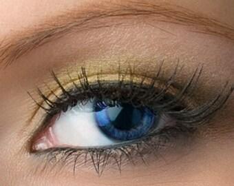 "Gold Taupe Eyeshadow - ""Tiferet"" - Vegan Mineral Eyeshadow Net Wt 2g Mineral Makeup Eye Color Pigment"
