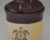 Stoneware Jelly/Spice Jar or Salt Cellar