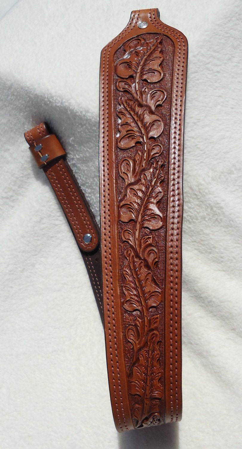 handmade leather rifle slings handmade leather rifle sling with padded shoulder area and 2000