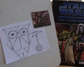 Star Wars The Clone Wars Magnet
