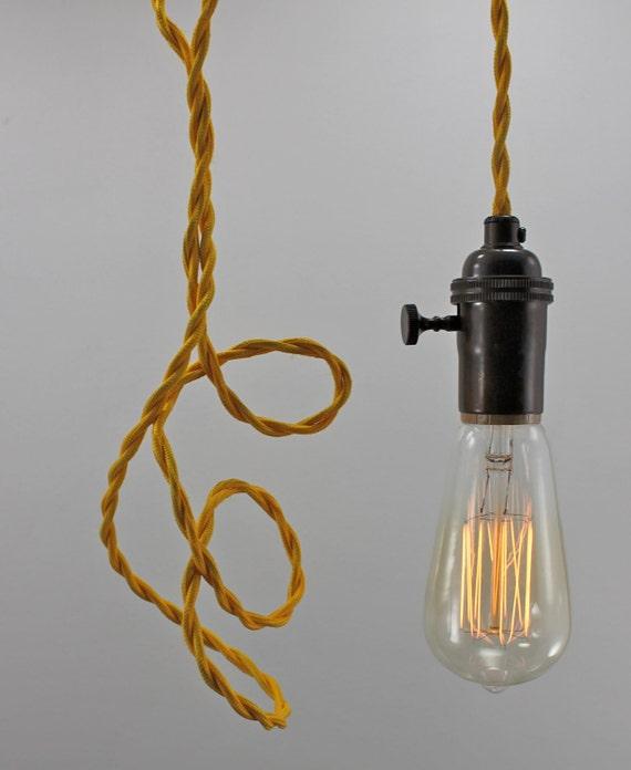 28 swag pendant light the original cloth cord swag amp pend