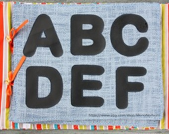 Getting Ready for Handwriting Chalk Work Book - English Alphabet