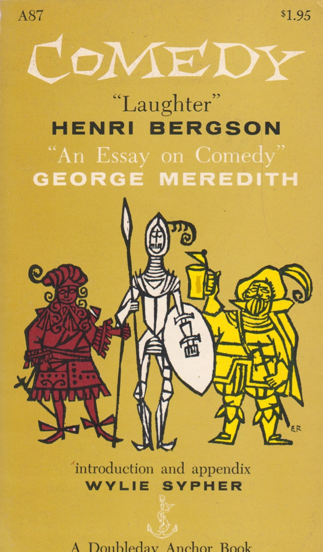henri bergson essay on laughter Book digitized by google and uploaded to the internet archive by user tpb  laughter: an essay on the meaning of the comic by henri bergson.