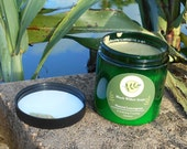 Lemongrass Exfoliating Foaming Scrub, 8 ounces, Handmade, Natural Facial Scrub, Cleansing Scrub, Skin Firming Soap Scrub