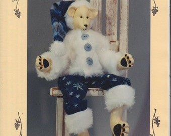 Humphrey Christmas Polar Bear Pattern from Fruitfull Hands - Susan M. Backlund Design - Christmas Bear