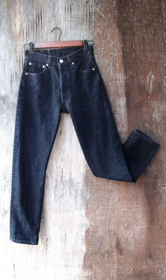 Vintage Levis 501 Button Fly Jeans 1980s 1990s By Gloriousmorn