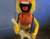 Janice Muppet Inspired Amigurumi Crochet Pattern
