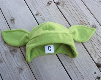 Fleece Yoda Hat
