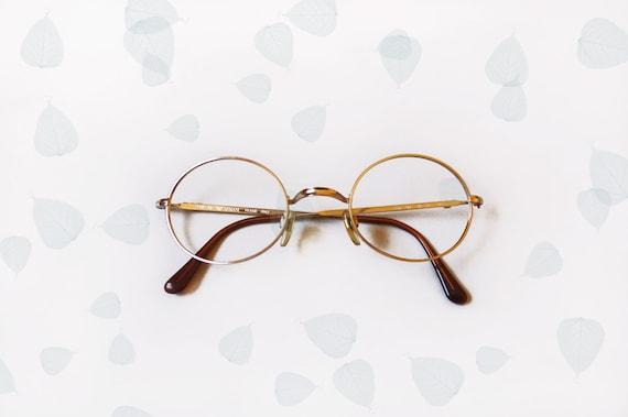 Vintage Armani Glasses Frames : Giorgio Armani Vintage 80s Frames eyeglasses / gold filled