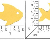 Fish Die Cut ~ Choice of Color(s) ~ Swimming Fishing Magnet Game Goldfish Bowl Thread Spool Fair Class Summer Craft Number Tag Contest Entry