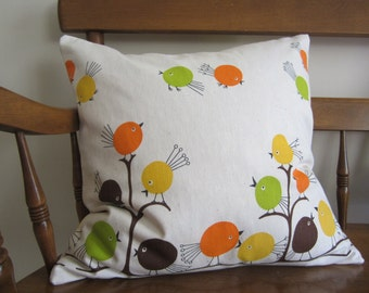 Flock-O-Fun Accent Pillow Cover