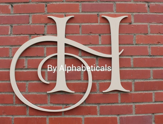 Items similar to wooden signs wall decor wooden letters decorative wall letters initial monogram - Decorative wooden letters for walls ...