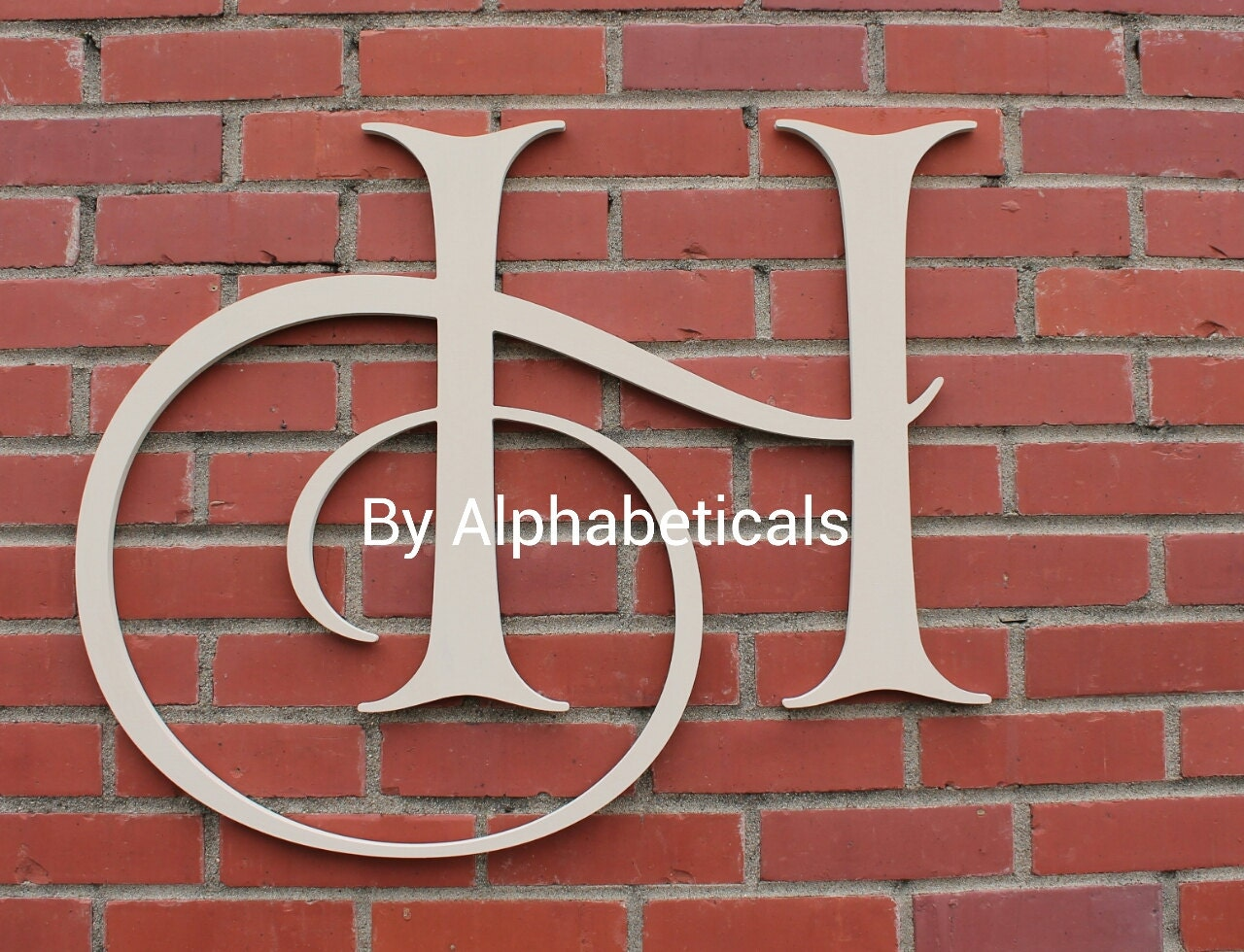 H Wall Decor Wooden Letters Decorative Wall By Alphabeticals