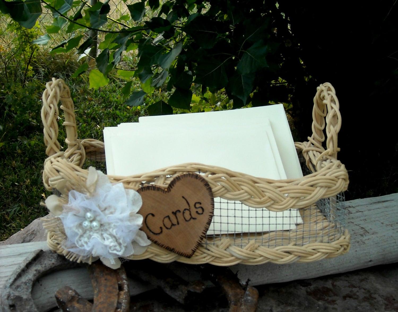 Rustic Wedding Gift Card Holder : Wedding Card Holder Rustic Wedding Card by MyMontanaHomestead