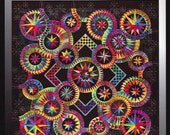Catch me if you Can Paper Pieced Quilt Pattern Be Colourful Jacqueline de Jonge DIY Quilting Foundation Piecing