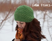 Calm Frenzy Hat Kit - Contains: PDF Pattern and One Skein of Orion Yarn in Colorway of Choice
