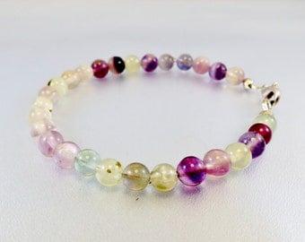 Mens fluorite bracelet