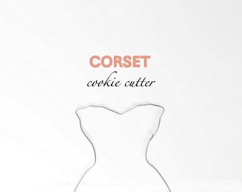 Corset Lingerie Cookie Cutter