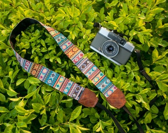 Personalize Camera Strap - Soul of Tribal for DSLR and Mirrorless