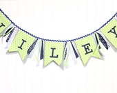 Layered  Burlap NameBanner-Party, Decoration, and Photo Prop
