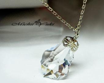 Final Fantasy IX Inspired Garnet Crystal Necklace - Glass Crystal
