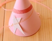Pink Party Hat - Custom Birthday Party Hats