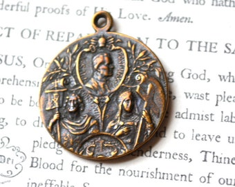 Puix X - St Helena - Constantine - Religious Medal - Saint Medal -  Bronze or Sterling  (SM43-1047)
