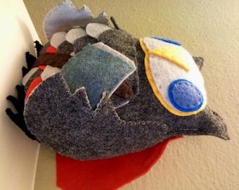Avengers Thor Inspired Owl Plush