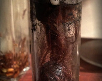 Werewolf Claw preserved in Glass Vial