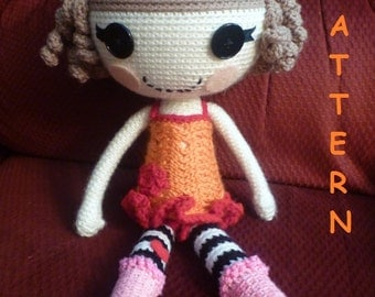 LalaLoopsy Type Doll PATTERN