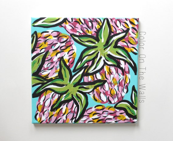 spike the punch lilly pulitzer print inspired by coloronthewalls. Black Bedroom Furniture Sets. Home Design Ideas