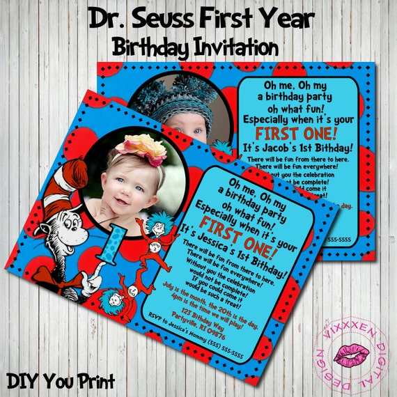 Custom Birthday Invitations Online with beautiful invitation layout