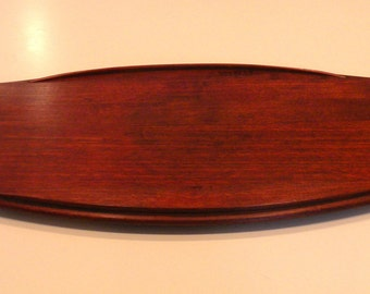 Early Jens Quistgaard Staved Teak Serving Tray