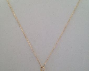 14kt GF Necklace and Swarovski Crystals