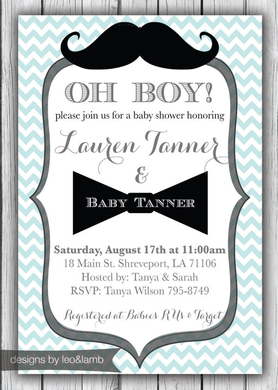 items similar to baby shower invitation for a boy. Black Bedroom Furniture Sets. Home Design Ideas