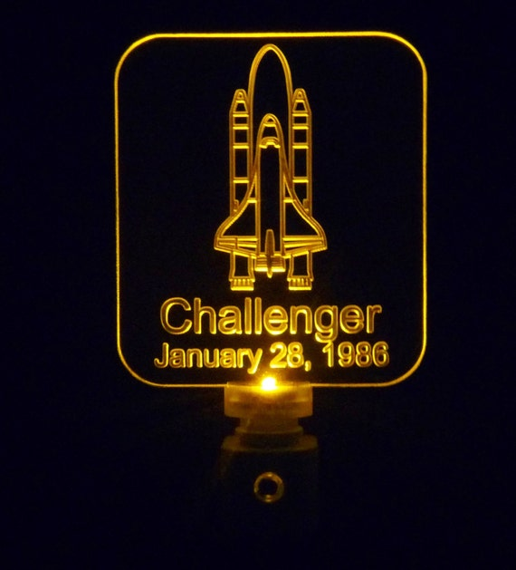 space shuttle challenger glow - photo #28