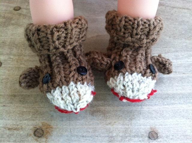Toddler Socks Knitting Pattern : sock monkey party sock monkey slippers sock monkey socks