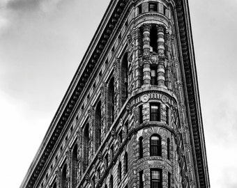 New York Photography - The Flatiron Building 8x10 Photo, Manhattan, New York