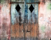 Preservation Hall door - St. Peter St., New Orleans photo OR poster