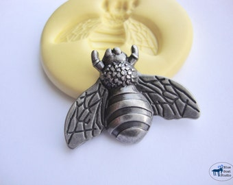 Bumble Bee Mold - Silicone Molds - Insect Bug Mold - Polymer Clay Resin Fondant