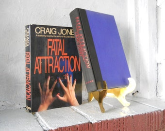 Fatal Attraction. Craig Jones. Hardcover with Dust Jacket. Stated First Edition